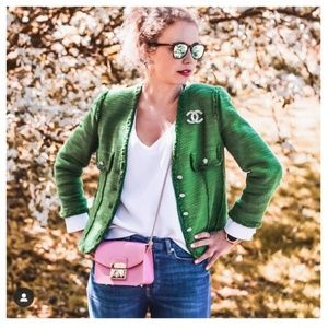 Zara Jewel button blazer (2270)